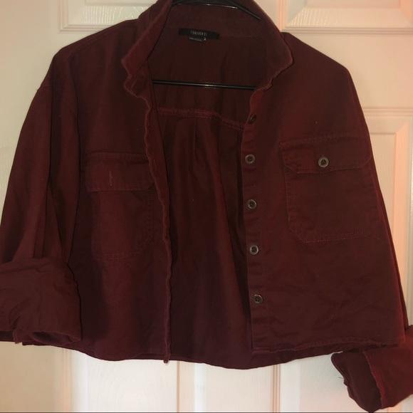 Forever 21 Jackets & Blazers - Marroon Women's Jacket